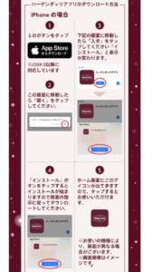 ハーゲンダッツ公式アプリの使い方【iPhoneの場合】