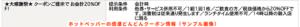 ホットペッパーの感激どんどんクーポン情報(サンプル画像)