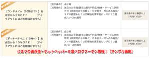 にぎりの徳兵衛・ホットペッパー&食べログクーポン情報!(サンプル画像)